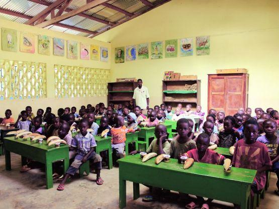 École au Congo-Brazzaville
