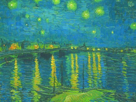 La Nuit étoilée par Vincent van Gogh